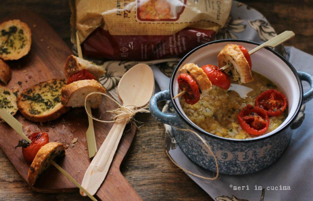 zuppa cremosa meri
