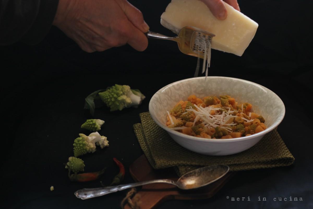minestra coi broccoli piatto povero della tradizione romana