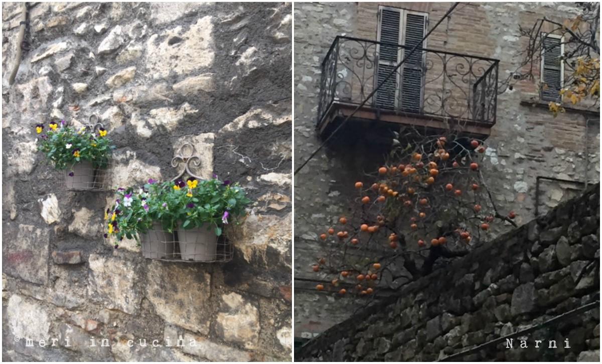 Narni in Umbria cittadina medievale
