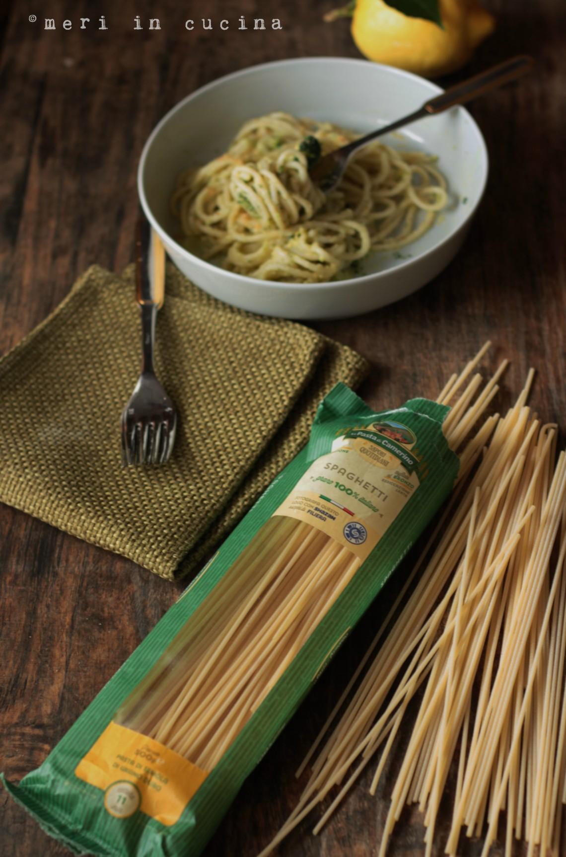 cremosi e saporiti spaghetti