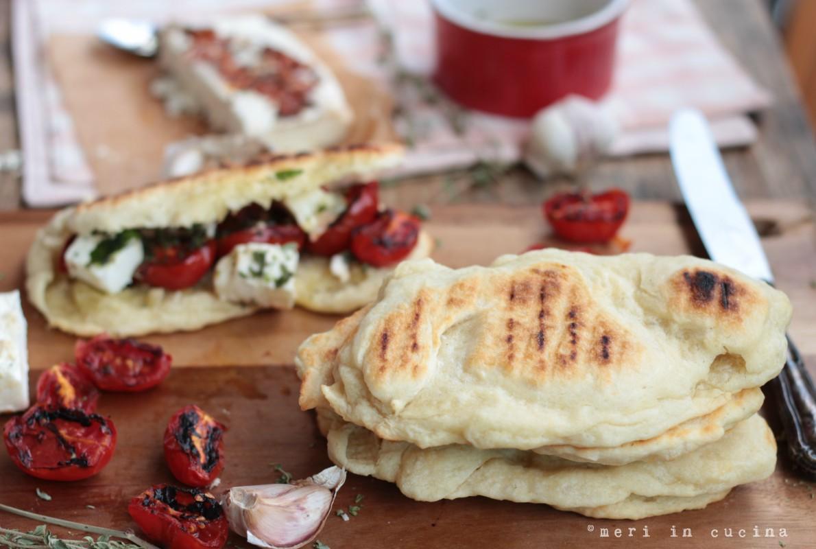 un pane buonissimo da cuocere velocemente sulla griglia