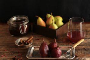 pere estive in conserva di vino Sangiovese