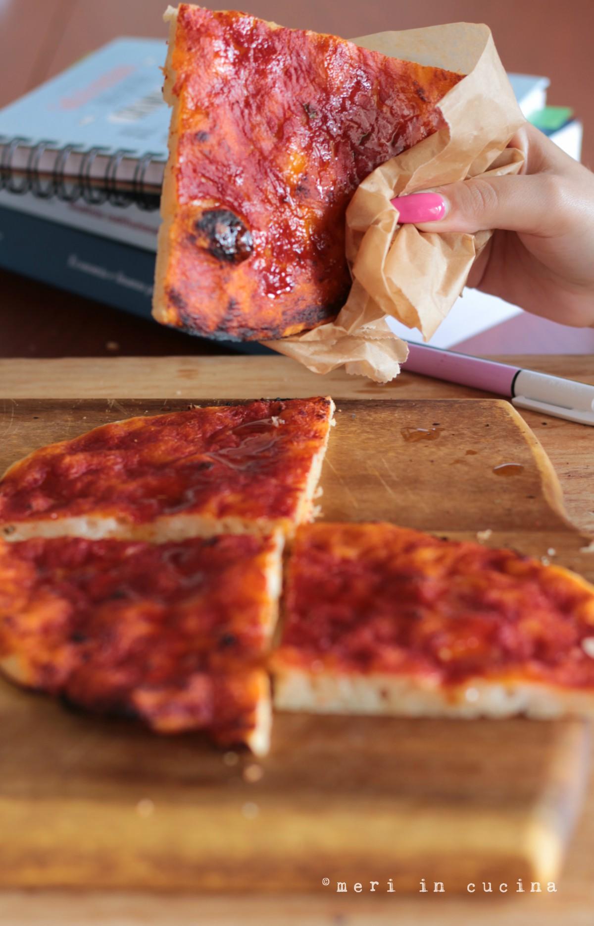 la pizzetta rossa, comfort food romano