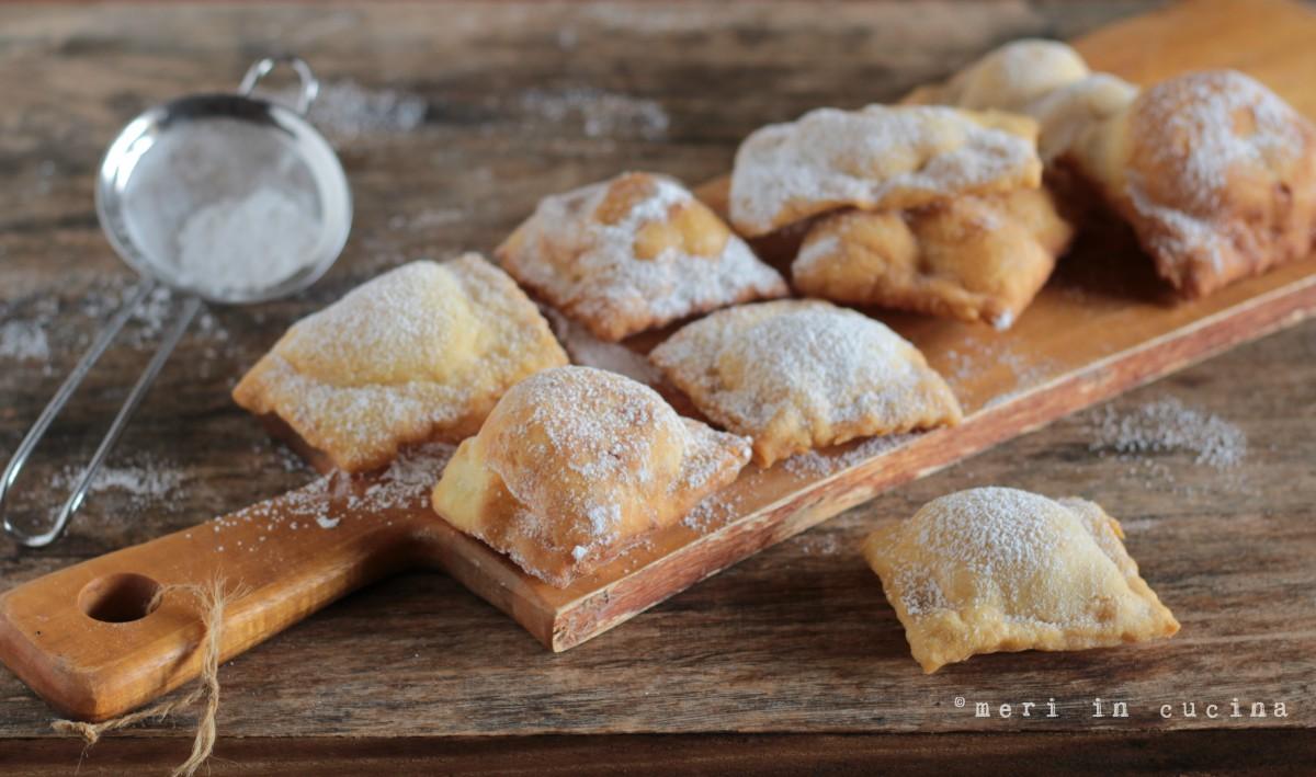 i ravioli dolci di carnevale sono una vera leccornia