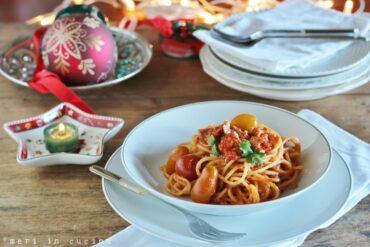 spaghetti con il tonno